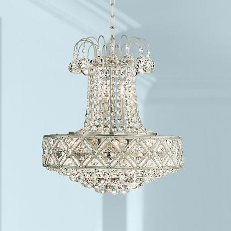 "Kevita 18"" Wide Crystal Chandelier"