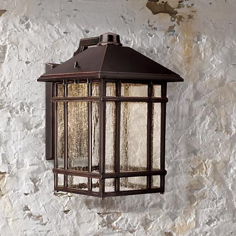 "J du J Sierra Craftsman 15"" High LED Outdoor Light"