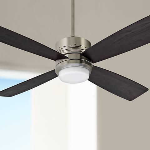 "50"" Emerson Highrise Steel Ceiling Fan with LED Downlight"
