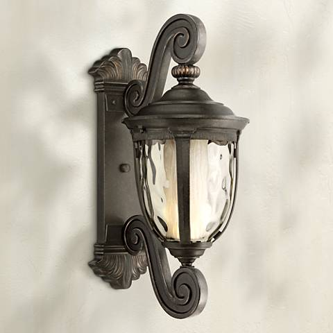 "Bellagio™ 24"" High LED Veranda Bronze Outdoor Wall Light"