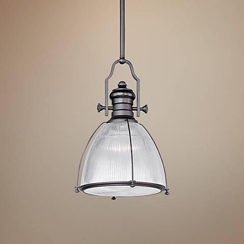 "Maxim Hi-Bay 14"" Wide Bronze Pendant"