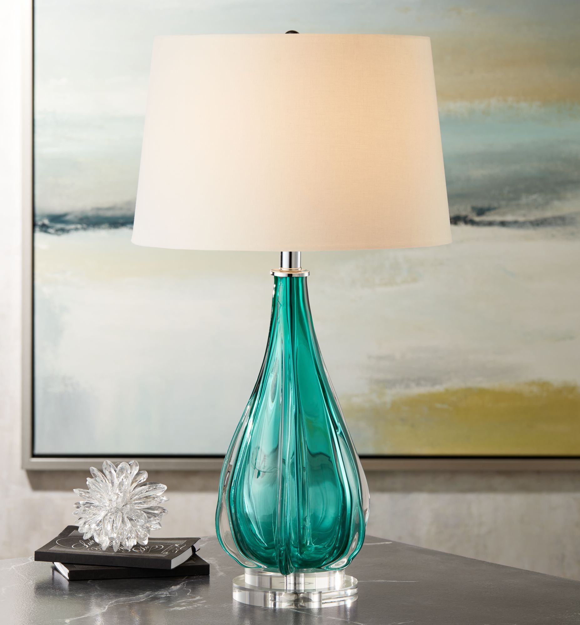 Glass Table Lamps Lamps Plus