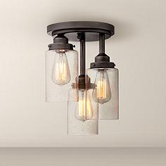 bronze flush mount ceiling lights | lamps plus