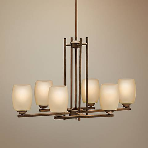 Kichler Sabina Collection Six Light Island Chandelier