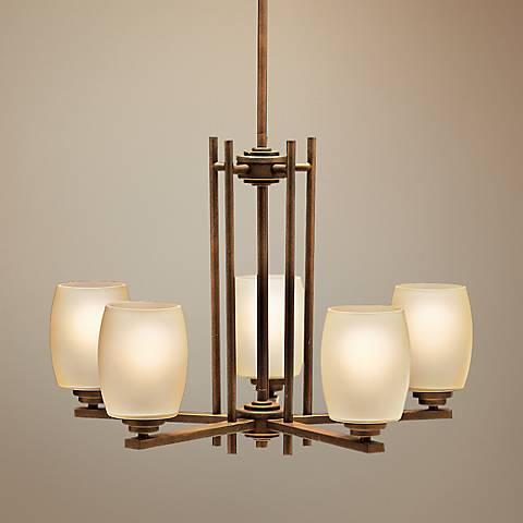 Kichler Sabina Olde Bronze Five Light Up/Down Chandelier