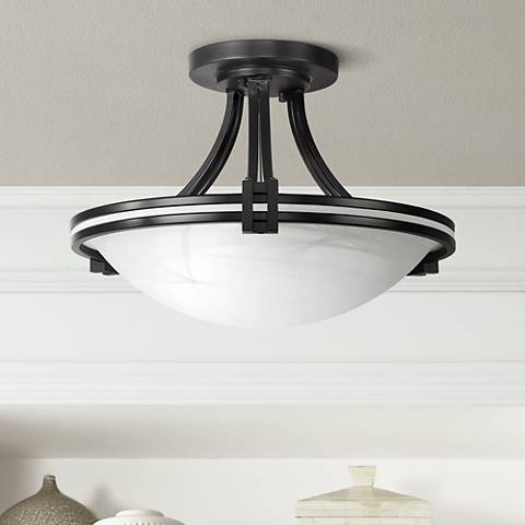"Possini Euro Design 16"" Wide Ceiling Light Fixture"