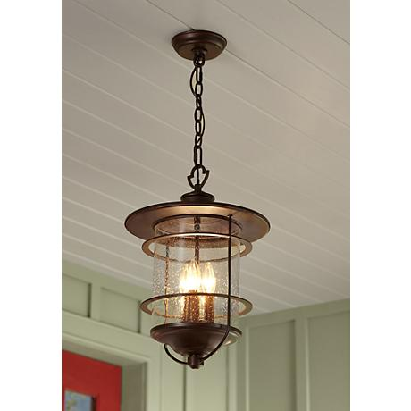 "Franklin Iron Works Casa Mirada 19 3/4"" High Outdoor Light"