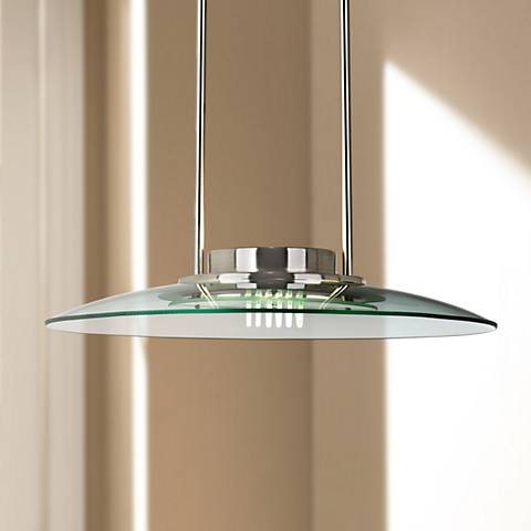 Contemporary Halogen Pendant Chandelier