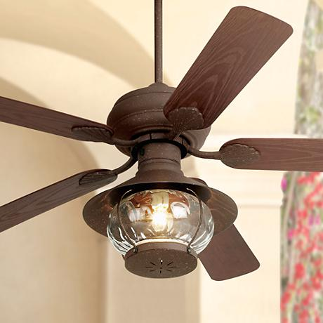 "52"" Casa Vieja® Rustic Indoor/Outdoor Ceiling Fan"