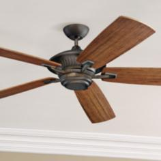"60"" Monte Carlo Cyclone Energy Star  Indoor Out Ceiling Fan"