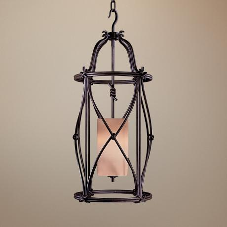 "Minka Aspen II Collection 15"" Wide Foyer Pendant Light"