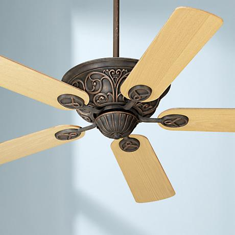 "52"" Casa Contessa™ Bronze Light Oak Blades Ceiling Fan"