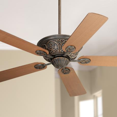 "52"" Casa Contessa™ Bronze Walnut Blades Ceiling Fan"