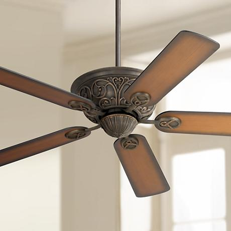 "52"" Casa Contessa™ Bronze Teak Finish Ceiling Fan"
