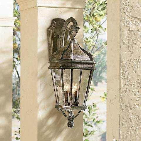 "Harrison™ Series 27"" High Outdoor Wall Light"