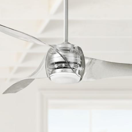 "58"" Artemis Translucent Ceiling Fan"