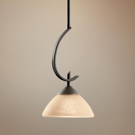 Olympia Bronze Mini Pendant Chandelier