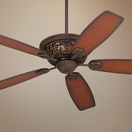 "56"" Casa Brisbane™ Black Rust Ceiling Fan"
