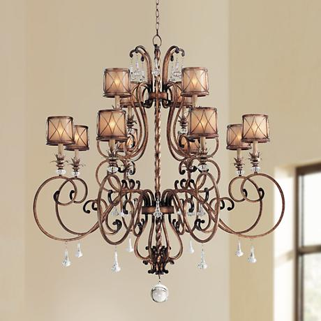 Minka Aston Court Collection 12-Light Chandelier