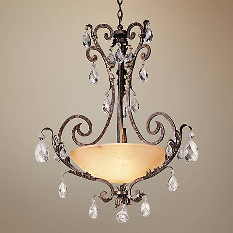 "Fredrick Ramond Barcelona Collection 34"" Wide Chandelier"