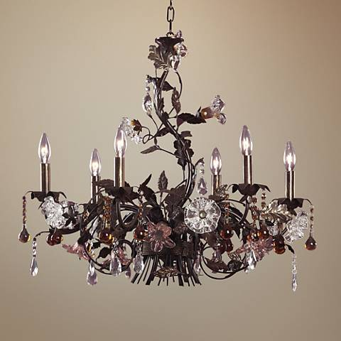 Ghia Collection Six Light Chandelier
