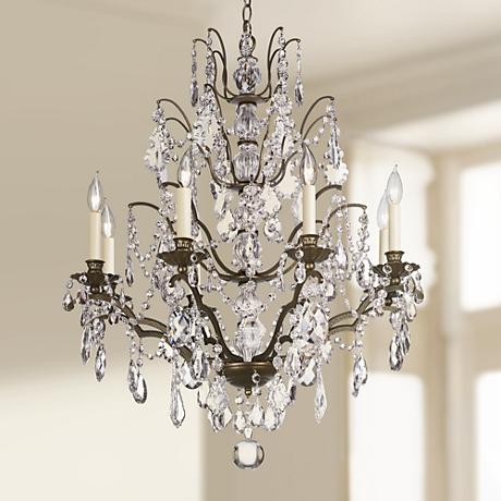 Schonbek Bordeaux Collection Bronze Chandelier