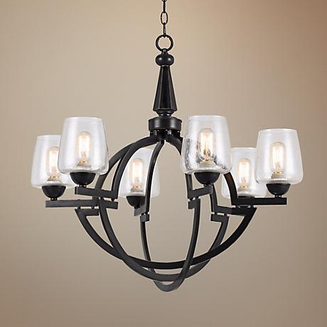 "Beverly 29 1/2"" Wide Oil-Rubbed Bronze Chandelier"