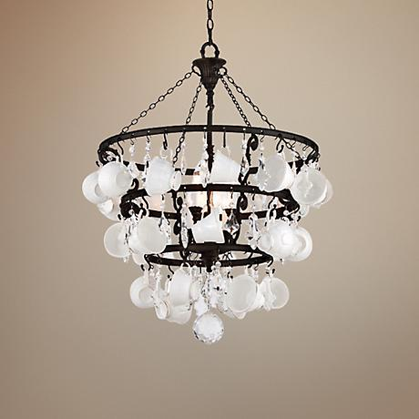 "Barista Collection 29"" Wide Teacup Chandelier"