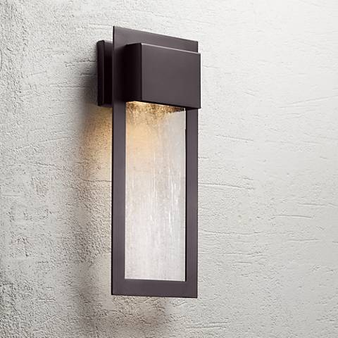 "Minka Westgate 20"" High Bronze Outdoor Wall Light"
