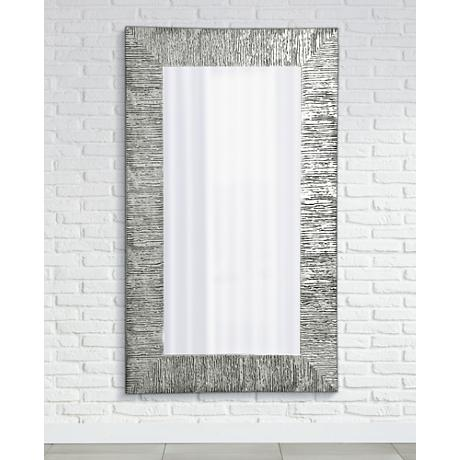 "Vetro 28 1/2"" x 63 1/2"" High Full Length Wall Mirror"