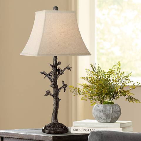 Cawthorne Birds in Tree Table Lamp