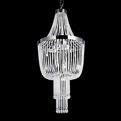 "Lite Source Paaveli I 20"" Wide Crystal Pendant Light"