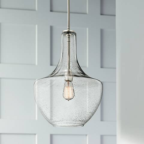 "Kichler Everly 13 3/4"" Wide Brushed Nickel Pendant Light"