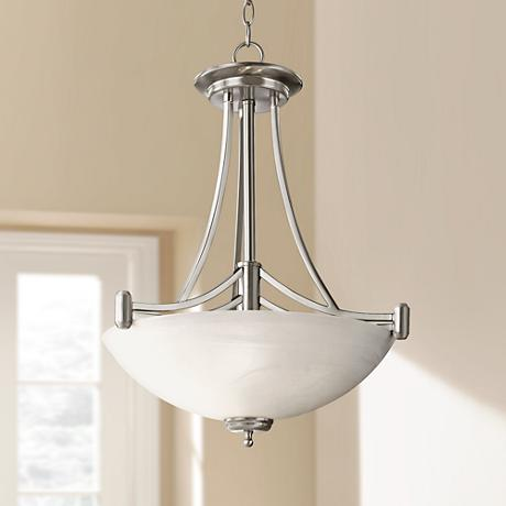 Kathy Ireland 4 Light Deco Scale Pendant Chandelier