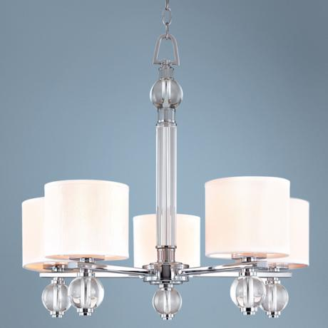 "Bentley Collection 26"" Wide 5-Light Chandelier"
