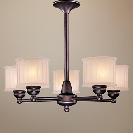 Minka 1730 Series 5-Light Chandelier