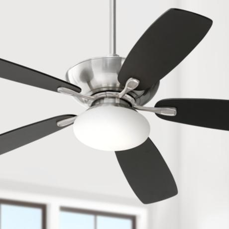 "52"" Casa Vieja Flex Brushed Nickel Ceiling Fan"
