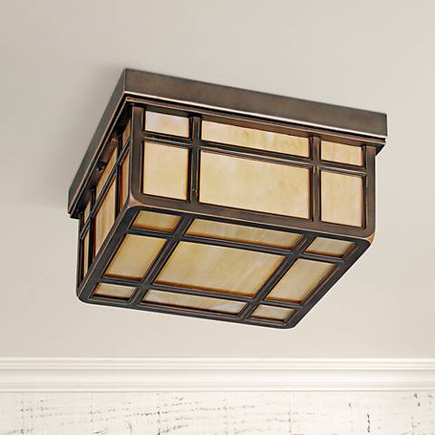 Kathy Ireland Mission Hills Indoor - Outdoor Ceiling Light