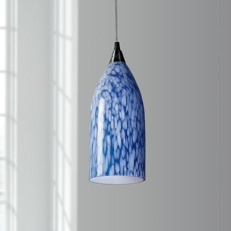 Verona Collection Blue Mini Pendant Chandelier
