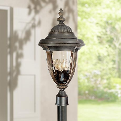"Bellagio™ Collection 24 1/2"" High Post Mount Light"