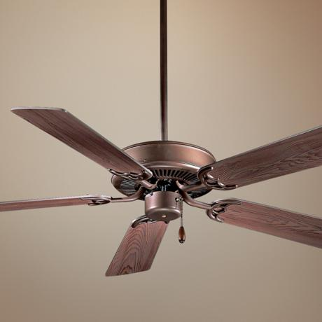 "42"" Minka Aire Contractor Oil Rubbed Bronze Ceiling Fan"