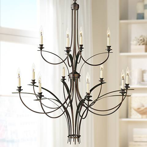 "Feiss Boulevard Collection 41 1/2"" Wide Chandelier"