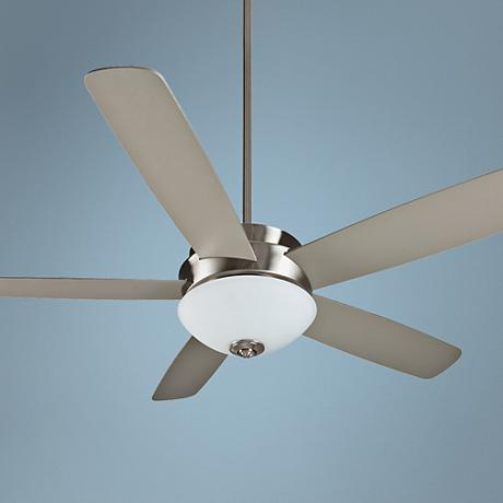"52"" Craftmade Layton Stainless Steel Ceiling Fan"