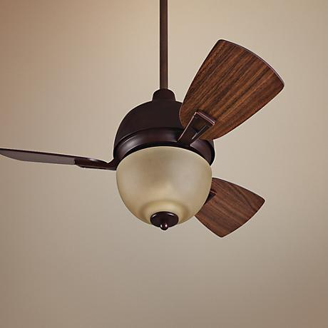 "30"" Craftmade Dane Oiled Bronze Gilded Ceiling Fan"
