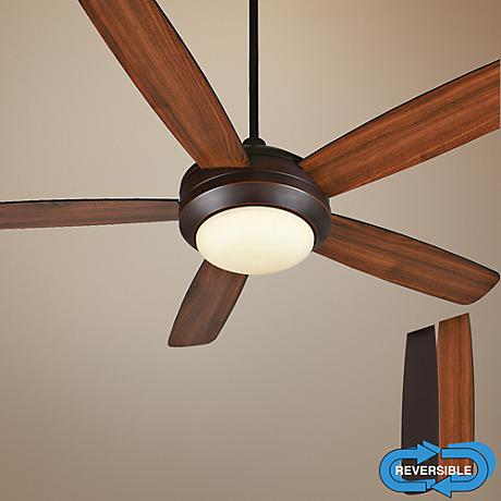 "52"" Craftmade Helios Oil-Rubbed Bronze Gilded Ceiling Fan"
