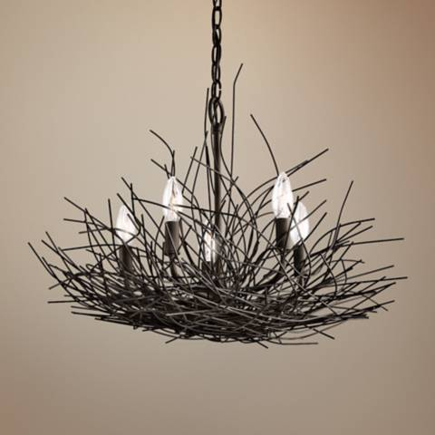 Organique Collection 24 Quot Wide Chandelier By Kichler