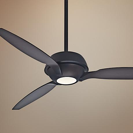 "60"" Casablanca Riello Maiden Bronze LED Ceiling Fan"