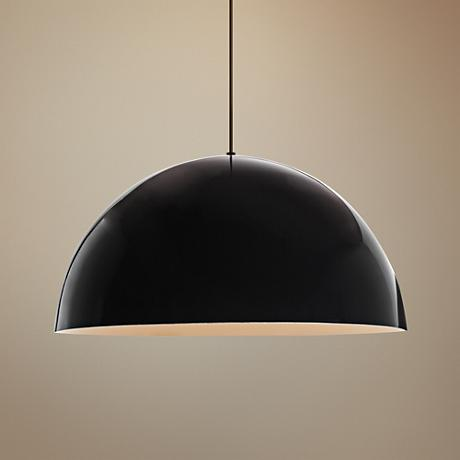 "Tech Lighting Powell Street 24"" Wide Black Pendant Light"