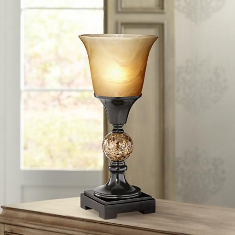 Yellow Table Top Torchiere Table Lamps