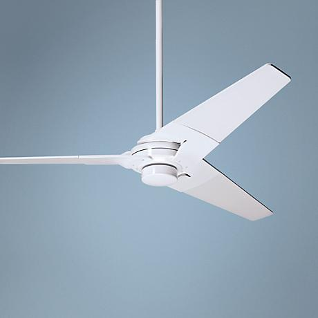 "52"" Modern Fan Torsion Gloss White Ceiling Fan"